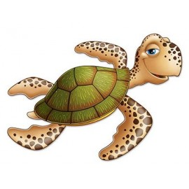 Sea Turtle Cutout Jointed 91cm