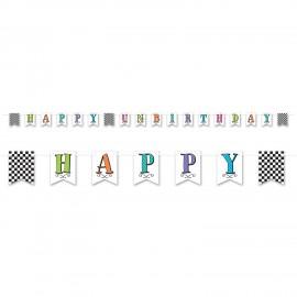 Alice in Wonderland Banner Happy Un-Birthday
