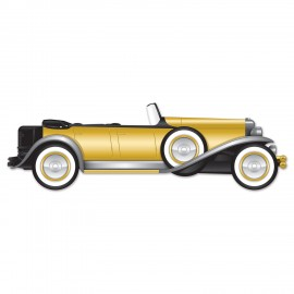Cutout Great 20's Roadster Car Prop