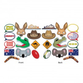 Photo Booth Props Australian Fun Signs