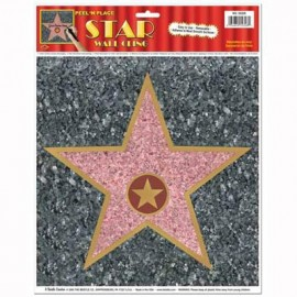 Sticker Peel N Place Star 'Walk of Fame'