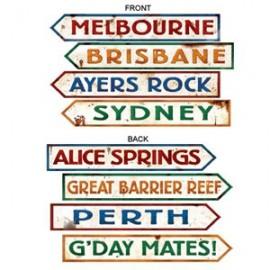 Cutouts Australian Street Signs