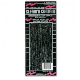 Curtain Black Plastic