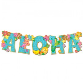 Aloha Streamer Jointed Banner