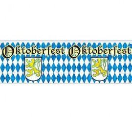 Banner Metallic Oktoberfest Fringe