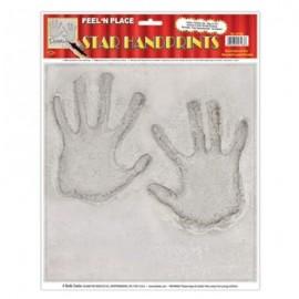 Sticker Peel N Place Handprints