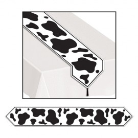 Table Runner Cow Print