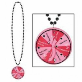Necklace with Bachelorette Spinner