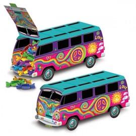 Bus Centrepiece Hippie / Retro / 60's