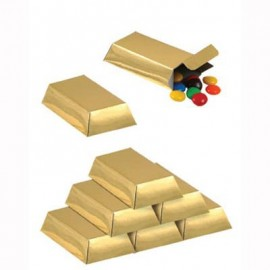 Favor Boxes Gold Bar