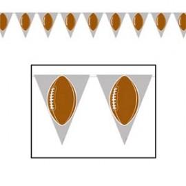 Banner Pennant Football