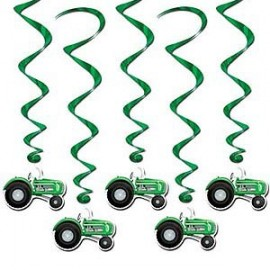 Hanging Decorations Tractor Whirls