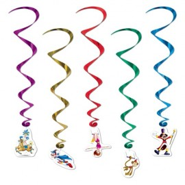 Hanging Decoration Whirls Circus
