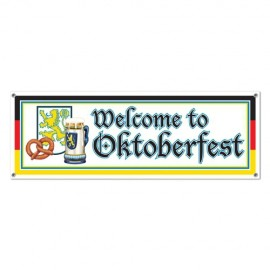 Banner Welcome to Oktoberfest