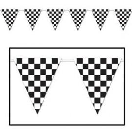 Pennant Banner Checkered