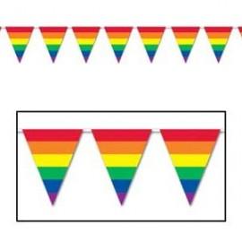 Banner Pennant Rainbow