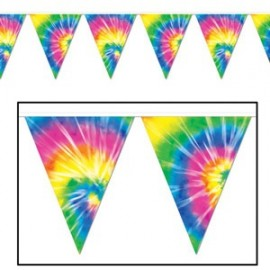 Banner Pennant Tie-Dyed