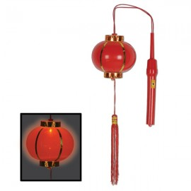 Asian Light Up Lantern 10cm