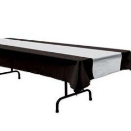 Tablecover Black & Silver