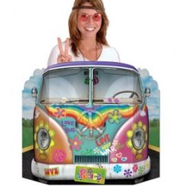 Photo Prop Hippie Bus