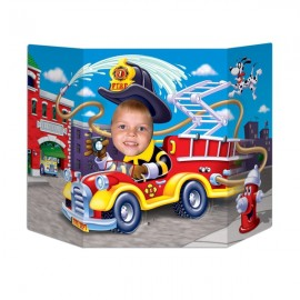 Photo Prop Fire Truck / Firefighter