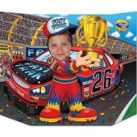 Photo Prop Race Car Driver