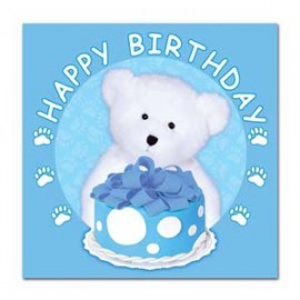 Luncheon Napkin Birthday Boy Boyds Bear