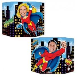 Photo Prop Super Hero Theme