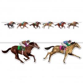 Horse Racing Streamer Banner 1.83m