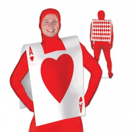 Alice in Wonderland Playing Card Suit Vest