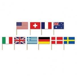Picks International Flags 7cm High