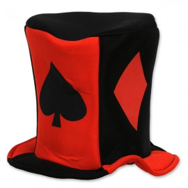 Hat Card Suit Casino Fabric