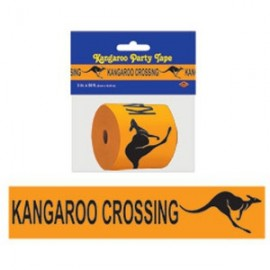 Party Tape Kangaroo Crossing