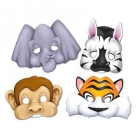 Masks Jungle Animals
