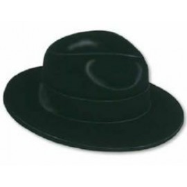 Hat Fedoras Velour Black