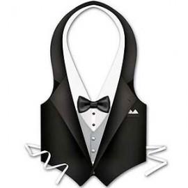 Costume Tux Vest Male