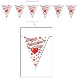 Banner Pennant Valentine's Day