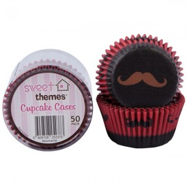 Cupcake Cases Moustaches