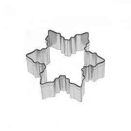 Cookie Cutter Snowflake 7.5cm Un-Packaged
