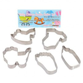 Cookie Cutters Baby Shower, Rust Resistant and Dishwasher