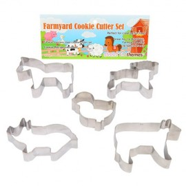 Cookie Cutters Farmyard, Rust Resistant & Dishwasher Safe