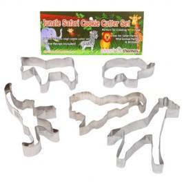 Cookie Cutters Jungle Safari, Rust Resistant & Dishwasher