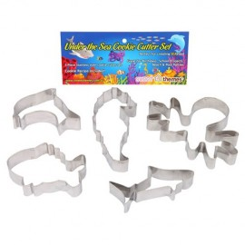 Cookie Cutters Under The Sea, Rust Resistant & Dishwasher