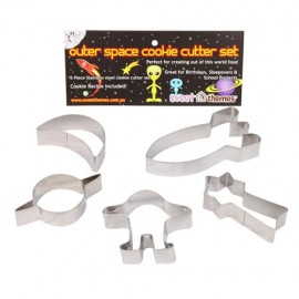 Cookie Cutters Outerspace, Rust Resistant & Dishwasher Safe