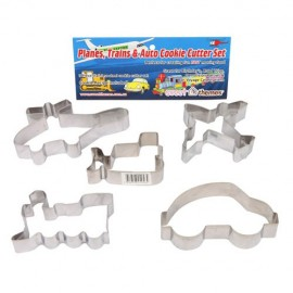 Cookie Cutters Planes Trains & Auto, Rust Resistant