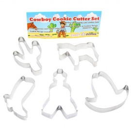 Cookie Cutters Cowboy, Rust Resistant & Dishwasher Safe