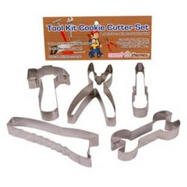 Cookie Cutters Tool Kit, Rust Resistant & Dishwasher Safe