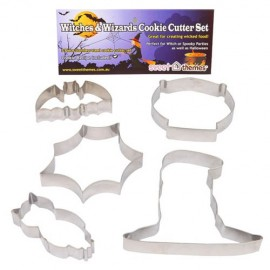 Cookie Cutters Witches & Wizards, Rust Resistant