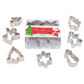 Cookie Cutters Christmas Mini, Rust Resistant & Dishwasher