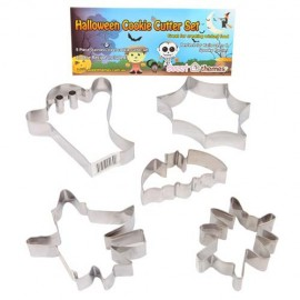 Cookie Cutters Halloween, Rust Resistant & Dishwasher Safe